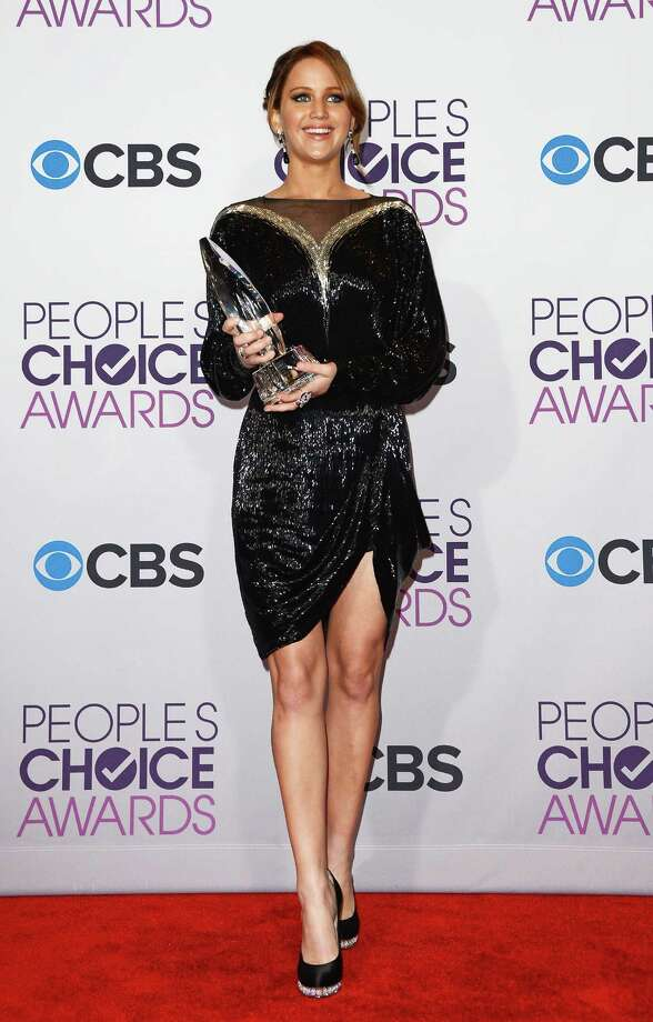 At the 39th annual People's Choice Awards on Jan. 9, 2013 in Los Angeles, wearing a Valentino couture creation. Photo: Jason Merritt, Getty Images / 2013 Getty Images
