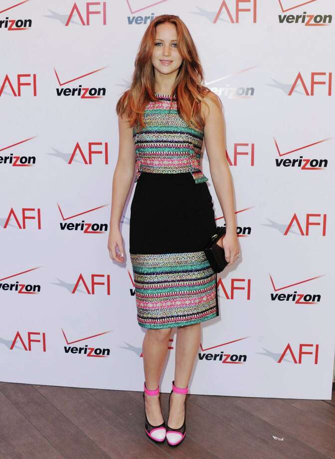 At the 2012 AFI Awards Luncheon on Jan. 11, 2013 in Beverly Hills, Calif., again in Prabal Gurung. Photo: Jon Kopaloff, FilmMagic / 2013 Jon Kopaloff