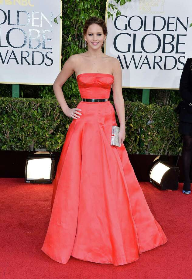 At the 70th annual Golden Globe Awards on Jan. 13, 2013 in Beverly Hills, Calif., wearing Christian Dior couture. Photo: George Pimentel, WireImage / 2013 WireImage
