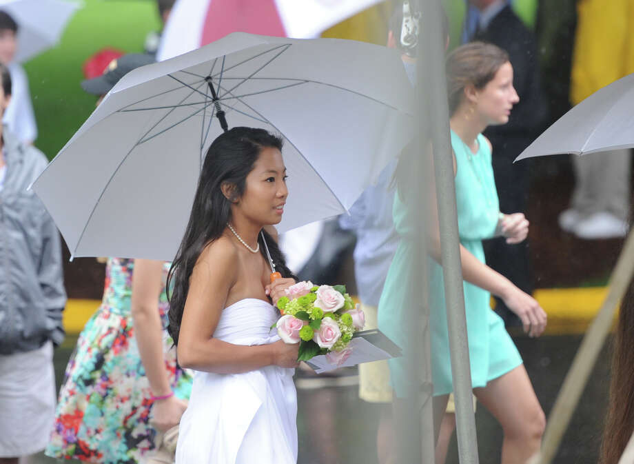 The Greenwich Academy graduation ceremony at the school in Greenwich, Thursday, May 23, 2013. Photo: Bob Luckey / Greenwich Time