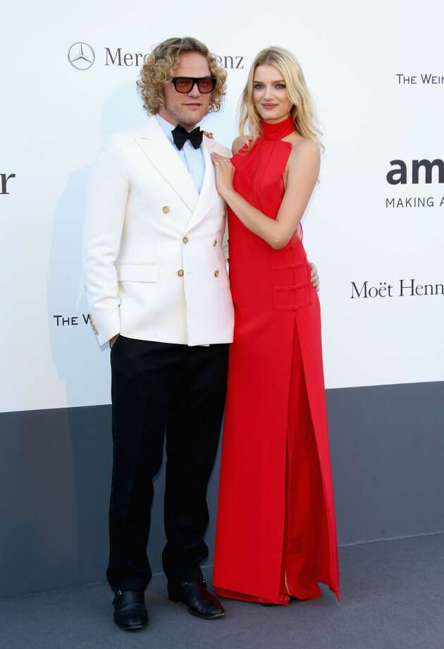 CAP D'ANTIBES, FRANCE - MAY 23:  Peter Dundas and model Lily Donaldson attends amfAR's 20th Annual Cinema Against AIDS during The 66th Annual Cannes Film Festival at Hotel du Cap-Eden-Roc on May 23, 2013 in Cap d'Antibes, France.  (Photo by Vittorio Zunino Celotto/French Select via Getty Images)