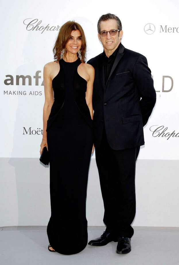 CAP D'ANTIBES, FRANCE - MAY 24:  (L-R) Carine Roitfeld and amfAR Chairman Kenneth Cole arrive at the 2012 amfAR's Cinema Against AIDS during the 65th Annual Cannes Film Festival at Hotel Du Cap on May 24, 2012 in Cap D'Antibes, France. Photo: Andreas Rentz, Getty Images / 2012 Getty Images
