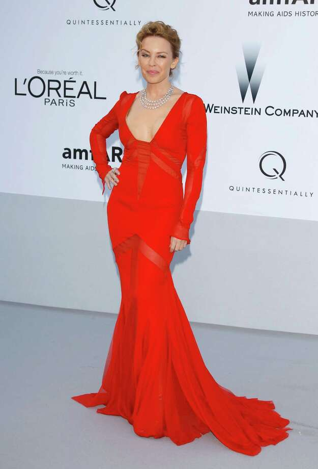 CAP D'ANTIBES, FRANCE - MAY 24:  Actress and singer Kylie Minogue arrives at the 2012 amfAR's Cinema Against AIDS during the 65th Annual Cannes Film Festival at Hotel Du Cap on May 24, 2012 in Cap D'Antibes, France. Photo: Andreas Rentz, Getty Images / 2012 Getty Images