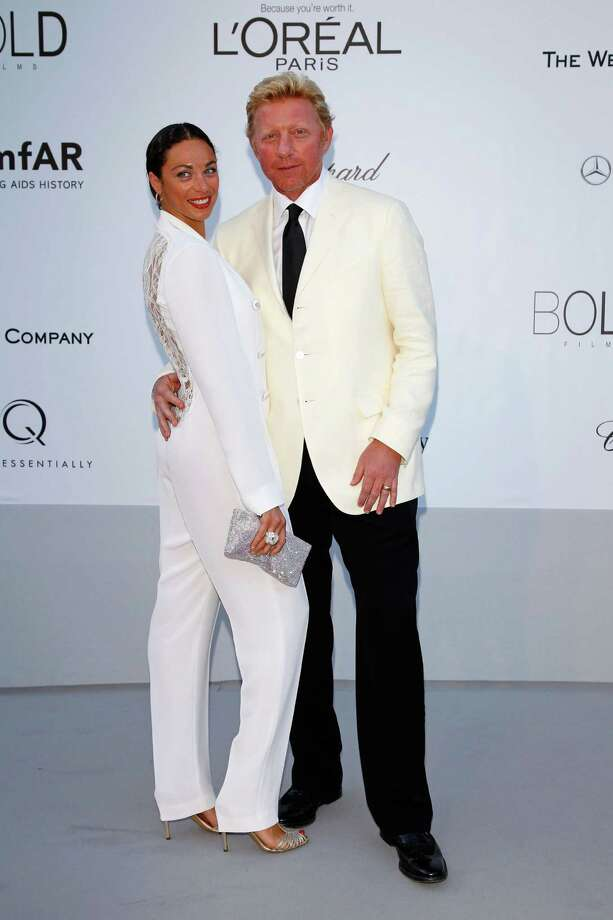 CAP D'ANTIBES, FRANCE - MAY 24:  (L-R) Lily Becker and Boris Becker arrive at the 2012 amfAR's Cinema Against AIDS during the 65th Annual Cannes Film Festival at Hotel Du Cap on May 24, 2012 in Cap D'Antibes, France. Photo: Andreas Rentz, Getty Images / 2012 Getty Images