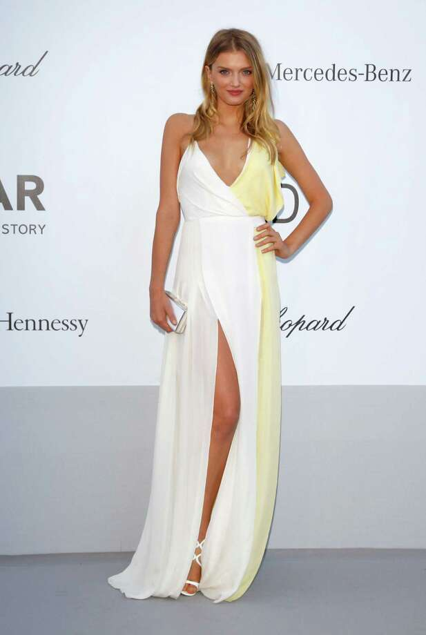 CAP D'ANTIBES, FRANCE - MAY 24:  Model Lily Donaldson arrives at the 2012 amfAR's Cinema Against AIDS during the 65th Annual Cannes Film Festival at Hotel Du Cap on May 24, 2012 in Cap D'Antibes, France. Photo: Andreas Rentz, Getty Images / 2012 Getty Images