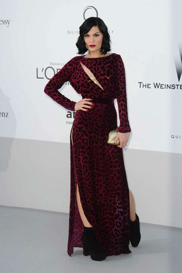 Singer Jessie J arrives for the amfAR Cinema Against AIDS benefit at the Hotel du Cap-Eden-Roc, during the 65th Cannes film festival, in Cap d'Antibes, southern France, Thursday, May 24, 2012. Photo: Jonathan Short, Associated Press / SHORJ