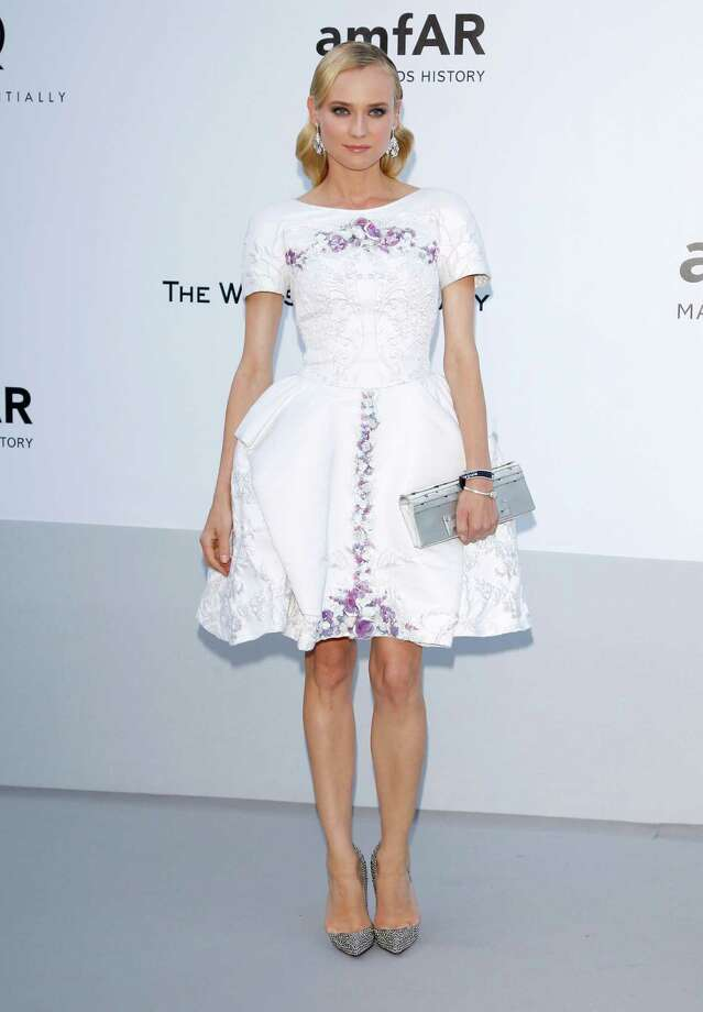 CAP D'ANTIBES, FRANCE - MAY 24:  Actress Diane Kruger arrives at the 2012 amfAR's Cinema Against AIDS during the 65th Annual Cannes Film Festival at Hotel Du Cap on May 24, 2012 in Cap D'Antibes, France. Photo: Andreas Rentz, Getty Images / 2012 Getty Images