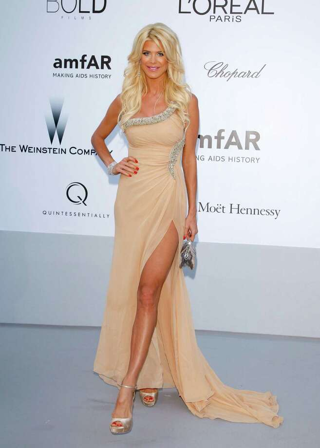 CAP D'ANTIBES, FRANCE - MAY 24:  Victoria Silvstedt arrives at the 2012 amfAR's Cinema Against AIDS during the 65th Annual Cannes Film Festival at Hotel Du Cap on May 24, 2012 in Cap D'Antibes, France. Photo: Andreas Rentz, Getty Images / 2012 Getty Images