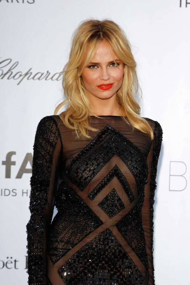 CAP D'ANTIBES, FRANCE - MAY 24:  Model Natasha Poly arrives at the 2012 amfAR's Cinema Against AIDS during the 65th Annual Cannes Film Festival at Hotel Du Cap on May 24, 2012 in Cap D'Antibes, France. Photo: Andreas Rentz, Getty Images / 2012 Getty Images