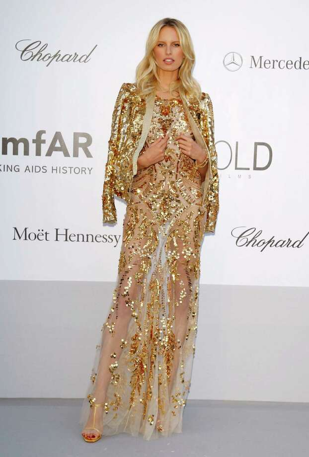 CAP D'ANTIBES, FRANCE - MAY 24:  Model Karolina Kurkova arrives at the 2012 amfAR's Cinema Against AIDS during the 65th Annual Cannes Film Festival at Hotel Du Cap on May 24, 2012 in Cap D'Antibes, France. Photo: Andreas Rentz, Getty Images / 2012 Getty Images