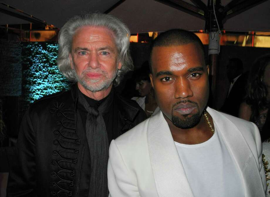 CAP D'ANTIBES, FRANCE - MAY 24:  (L-R) Hermann Buhlbecker and Kanye West arrive at the 2012 amfAR's Cinema Against AIDS during the 65th Annual Cannes Film Festival at Hotel Du Cap on May 24, 2012 in Cap D'Antibes, France. Photo: Andreas Rentz, Getty Images / 2012 Getty Images
