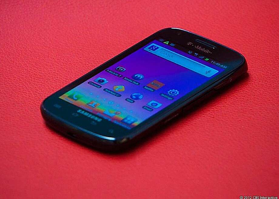 Samsung Galaxy S Blaze 4G Photo: Cnet Review