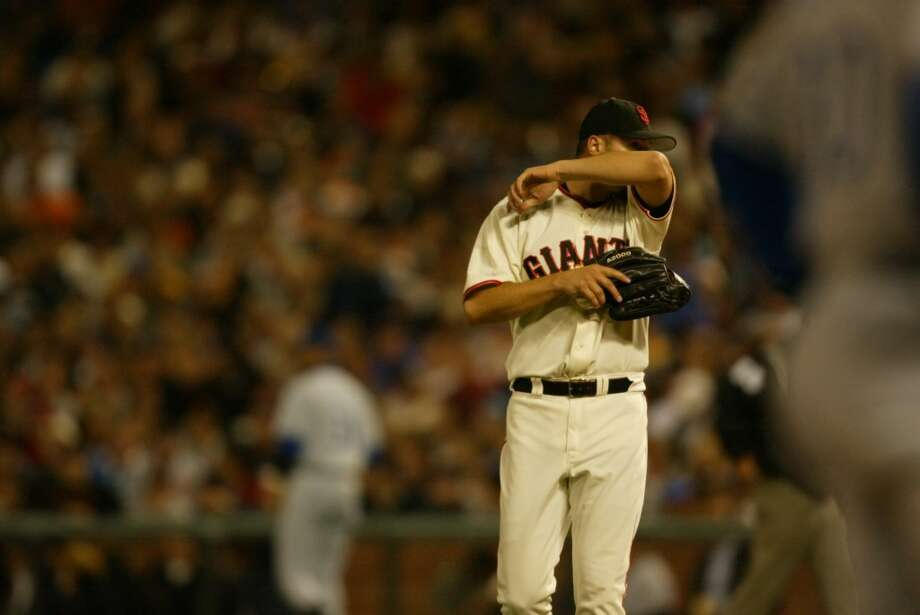 Jason Schmidt:  Schmidt was a great pitcher for the Giants, but that's not all he did for the team. While with San Francisco, he struck out 16 in a game and pitched multiple one-hitters. But he also sweetened a fan favorite bid in his post-Giants career. After signing a 3-year, $45 million contract with the rival Dodgers, Schmidt only pitched in 10 games before retiring. While he certainly didn't mean to be one, he made a great double agent.