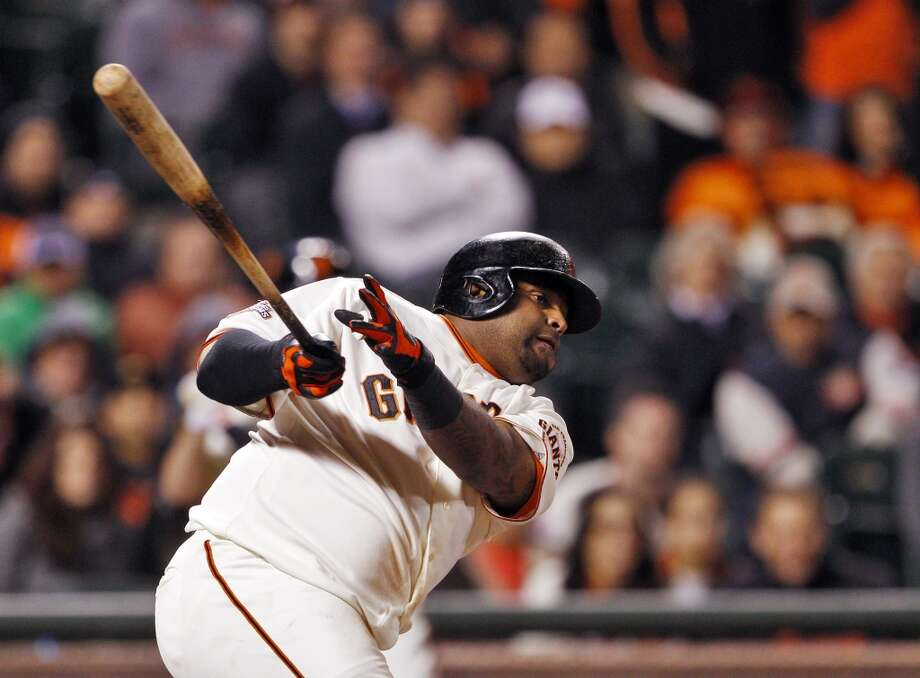 Pablo Sandoval:  Panda-monium really seems to bother fans of other teams. Maybe they don't like seeing grown men and women wearing stuffed panda hats. But his play and enthusiasm is infectious. Sandoval's production against the big, bad Justin Verlander last year won't be forgotten any time soon.