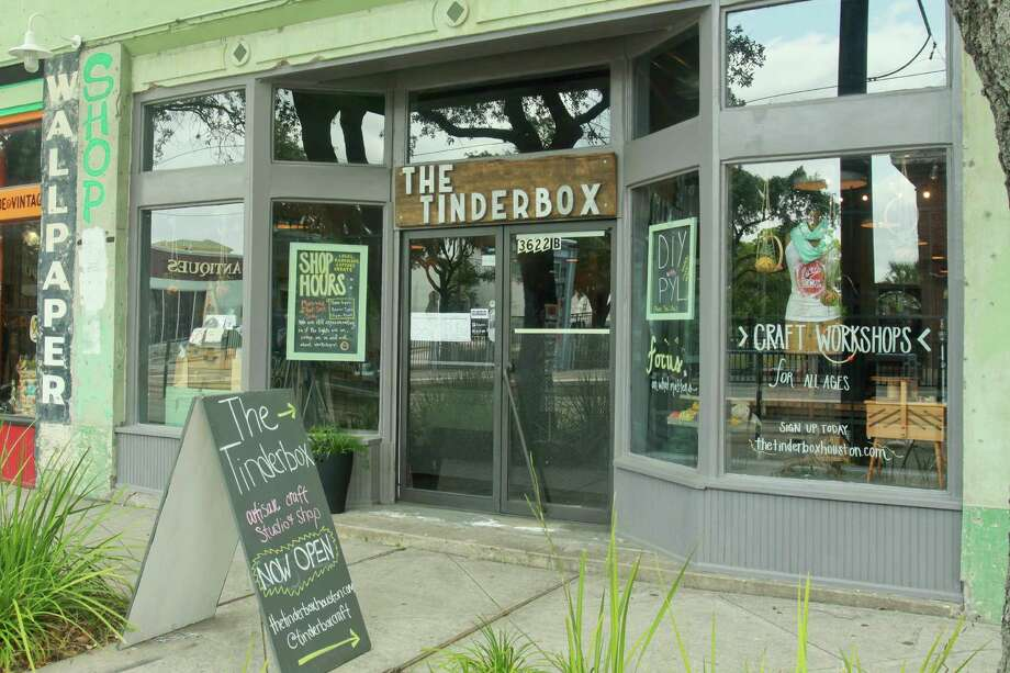 The Tinderbox in Midtown is a new boutique that offers craft workshops and items made by Texas artisans. Photo: Gary Fountain, Freelance / Copyright 2013 Gary Fountain
