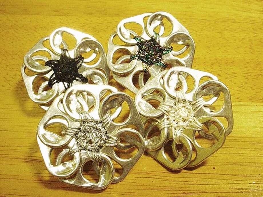 Four flower rings