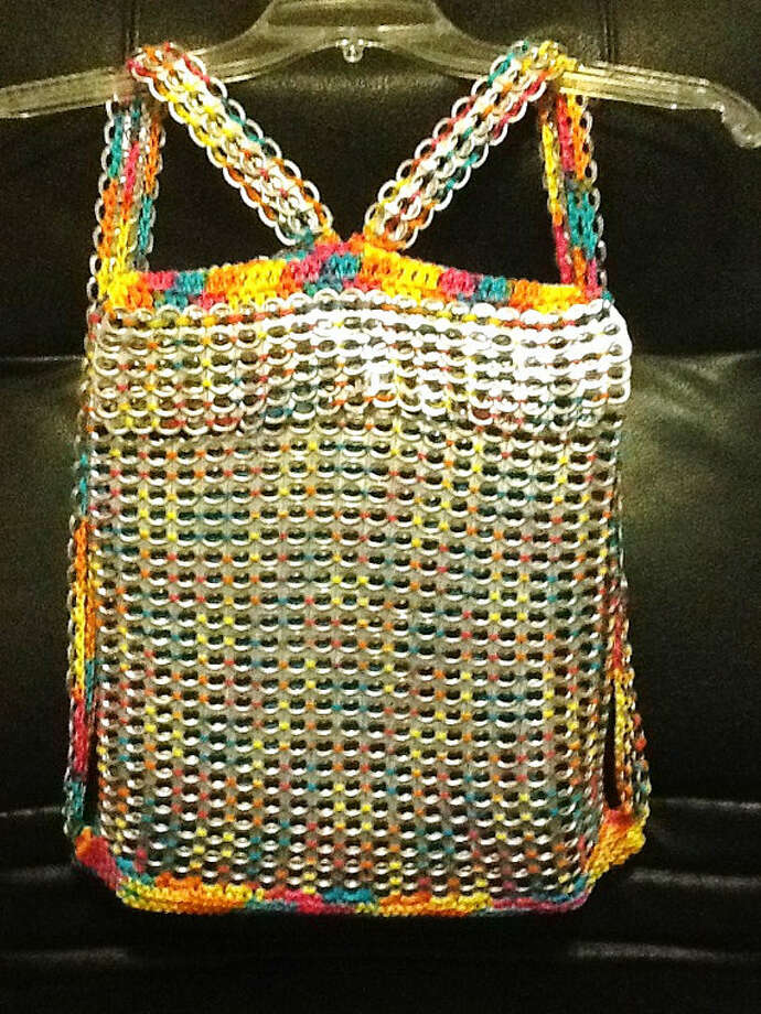 A custom-made backpack