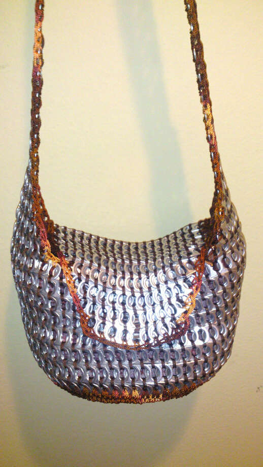 Silver and copper purse