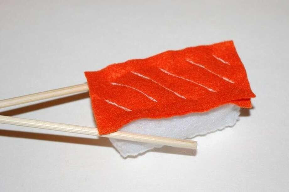 Salmon sushi (Photo courtesy Jenny Densing)