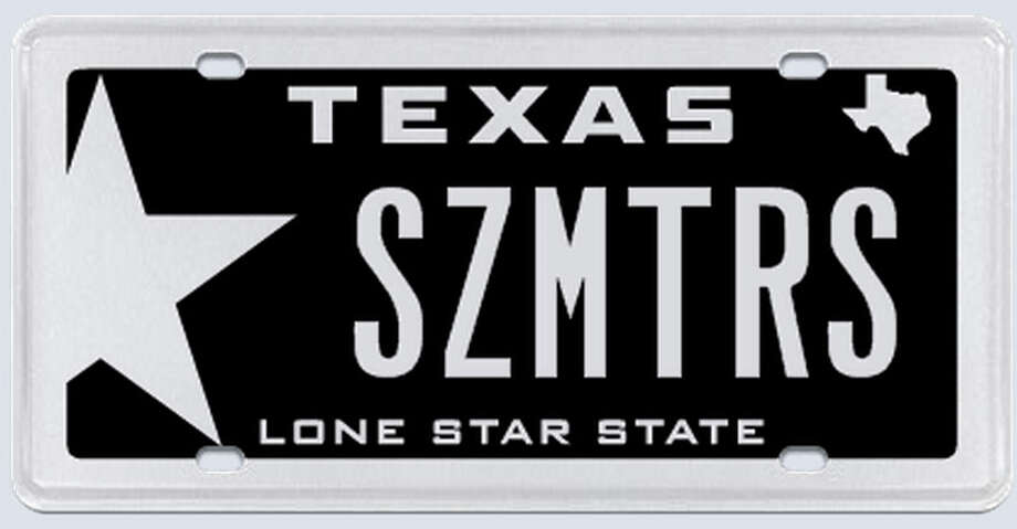 "What the applicant said: ""SZMTRS refers to the size of the car. It should also be noted that I have had this license plate for over 10 years."" Photo: MyPlates.com"