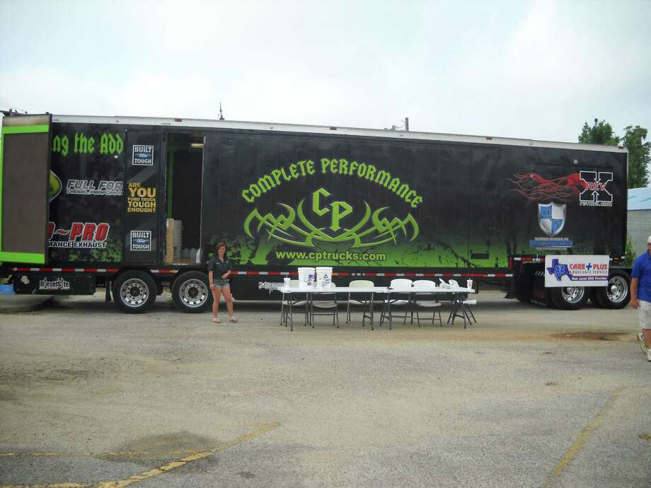 Complete Performance truck to be filled with items for Moore, Oklahoma. photo  Jeff Reedy
