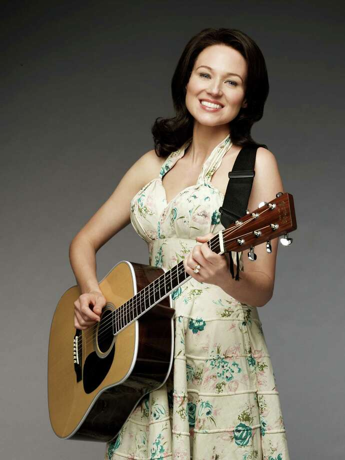 "Jewel plays June Carter Cash in Lifetime's ""Ring of Fire."" Photo: Patrick Ecclesine"