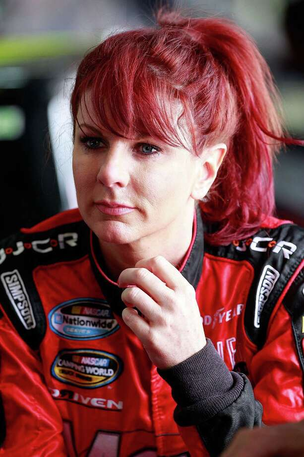 Jennifer Jo Cobb has competed in the NASCAR Nationwide Series and NASCAR Camping World Truck Series. Photo: Geoff Burke, Getty Images / 2013 NASCAR