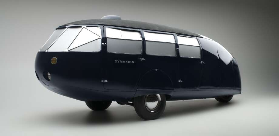 Buckminster Fuller's futuristic car, Dymaxion. This is Car #2, on museum display in Reno. (Photo courtesy of the National Automobile Museum/The Harrah Collection.)