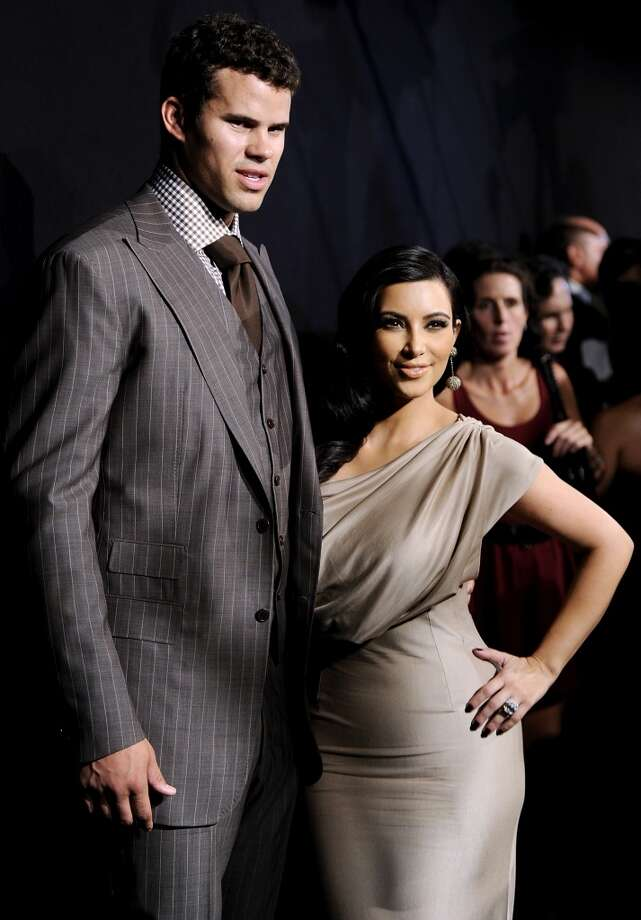 Kris Humphries and Kim KardashianThe marriage between the journeyman forward and curvy reality TV star lasted just 72 days.