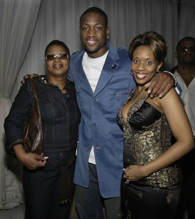 Dwyane and Siohvaughn Wade The Miami Heat star and his high school sweetheart went their separate ways after a near four-year divorce process, which led to  a messy custody battle. D-Wade won custody of the couple's two sons in March 2011. Siohvaughn was arrested for trying to abduct the children in June 2012.