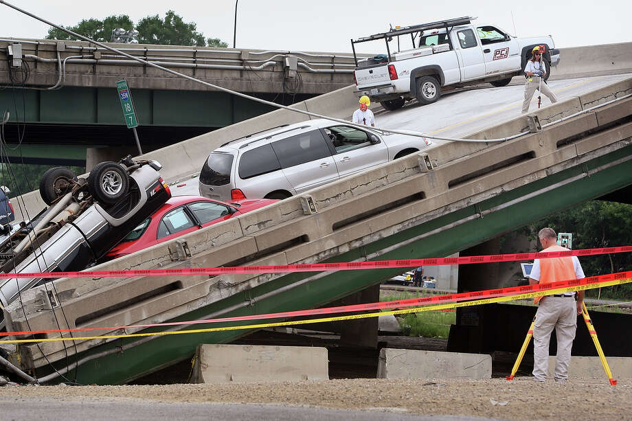 8.8% of Minnesota bridges are deemed structurally deficient. Photo: Scott Olson, Getty Images / 2007 Getty Images