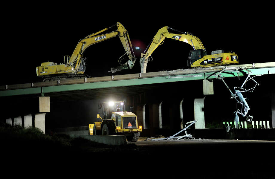 6.8% of Colorado bridges are deemed structurally deficient. Photo: Karl Gehring, Denver Post Via Getty Images / Denver Post