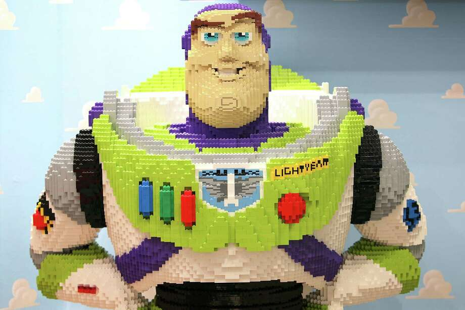 "Buzz Lightyear, from the ""Toy Story"" movies, is shown in Lego during the International Tokyo Toy Show 2010 on July 15, 2010 in Tokyo. Photo: Kiyoshi Ota, Getty Images / 2010 Getty Images"