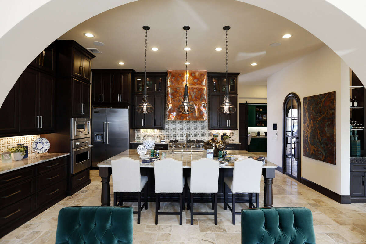 The Sitterle house is one of seven green-certified houses in the Parade of Homes. It runs through Monday at Cibolo Canyons.