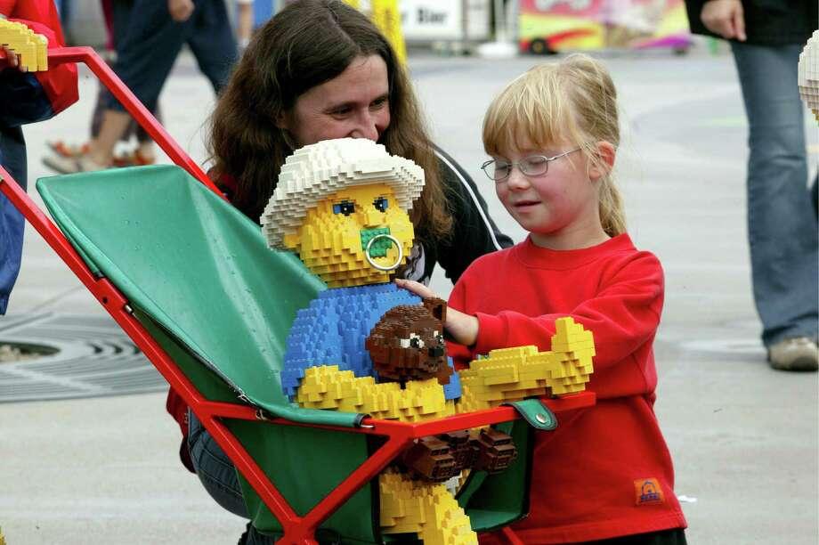 But the Lego babies are always well-behaved. Photo: Ulrich Baumgarten, U. Baumgarten Via Getty Images / 2005 Ulrich Baumgarten