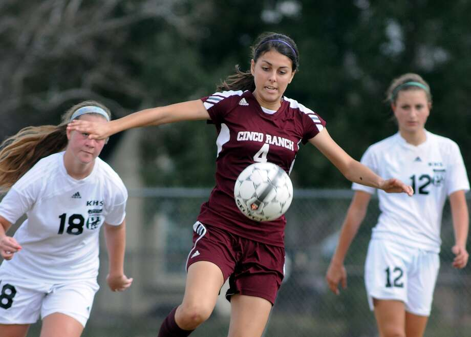 Maddie Nichols MF, Sr., Cinco Ranch Photo: Jerry Baker, For The Chronicle