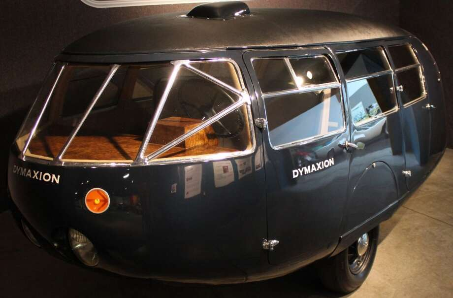 This is Car #2, the only surviving Dymaxion of the three that were produced in 1933-34.  (Photo courtesy of dymaxionfilm.com)