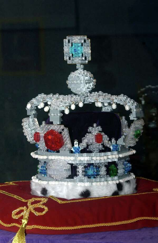 And here's a Lego version of the Imperial State Crown. Photo: Tim Graham, Tim Graham/Getty Images / Tim Graham Photo Library