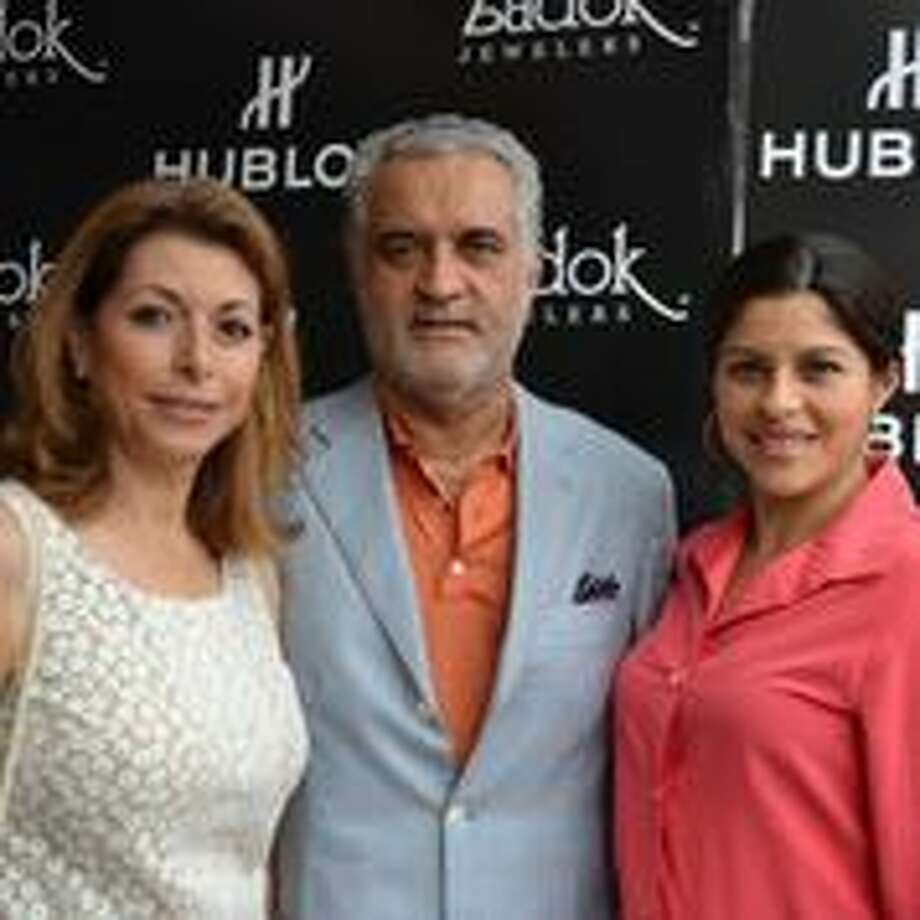 Martha Taghi, Houshang Taghi, and Shanna Taghi