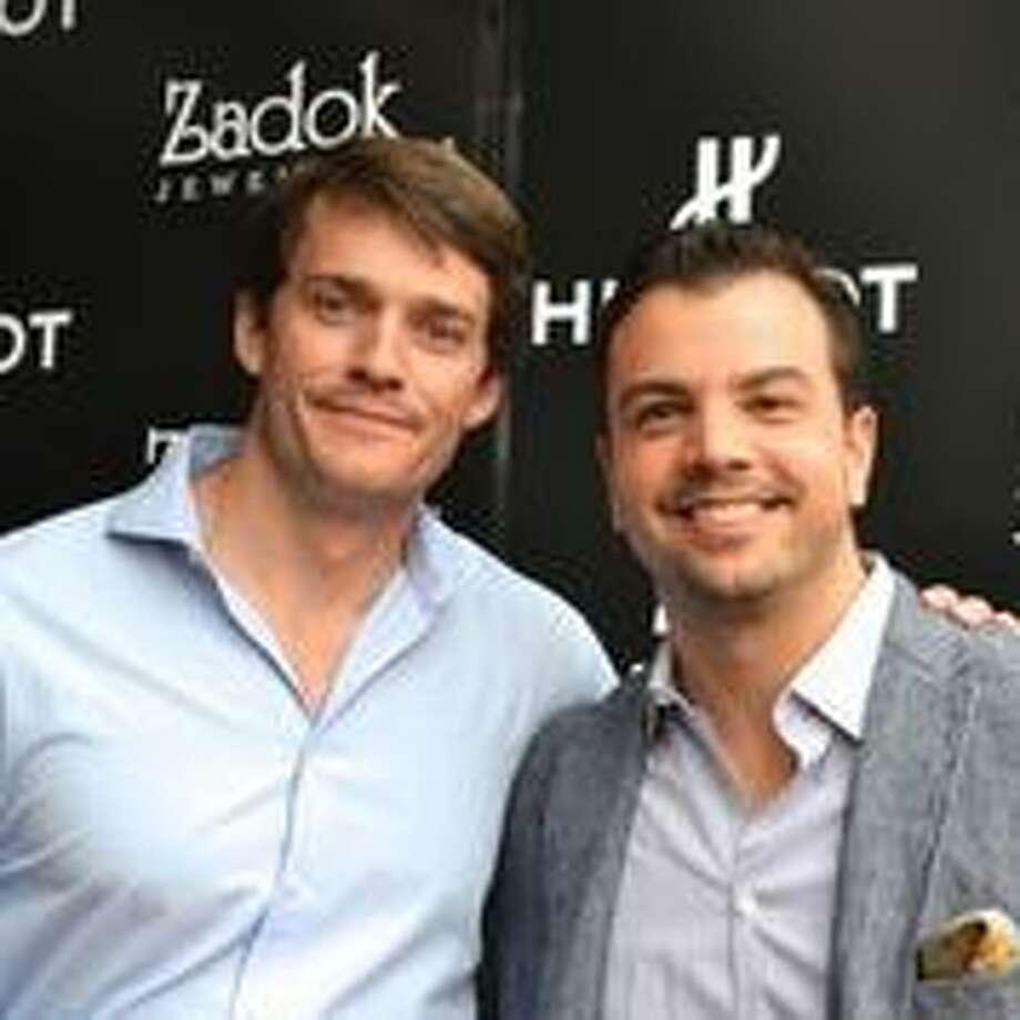 Nick Livingstone and Jonathan Aliota