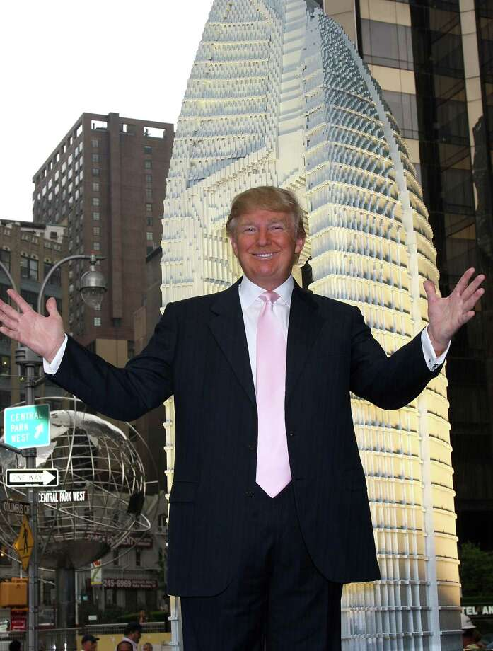 Maybe Donald Trump, if you ask him. Here, Trump ushers us into our architecture section at the debut of a Lego replica of the Trump International Hotel & Tower Dubai on June 23, 2008 at Central Park in New York City. Photo: Will Ragozzino, Getty Images / 2008 Getty Images