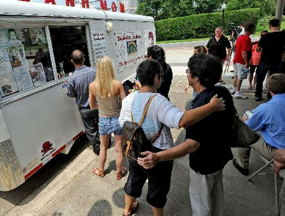 The Banh Mon Renegade Street Food trailer. cat5 file photo