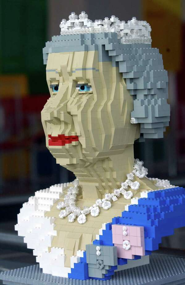 Here's the queen in Lego. Photo: Tim Graham, Tim Graham/Getty Images / Tim Graham Photo Library