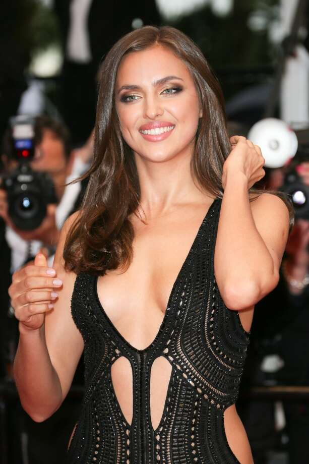 Irina Shayk attends the Premiere of 'All Is Lost' during The 66th Annual Cannes Film Festival.