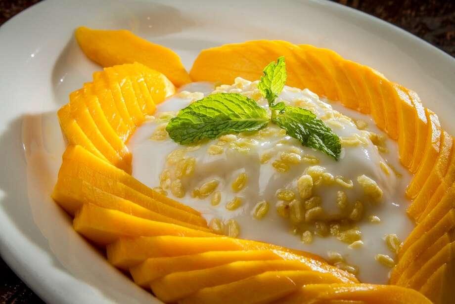 Mango with Sticky Rice ($4.95)