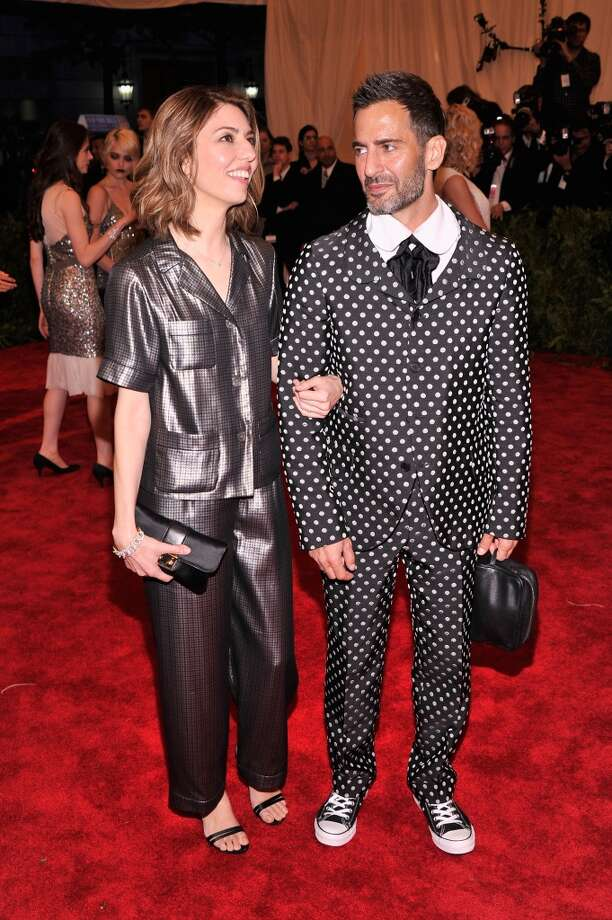 Sofia Coppola took a cue from designer Marc Jacobs, sporting silky pjs to the Costume Institute Gala on May 6, 2013 in New York City.
