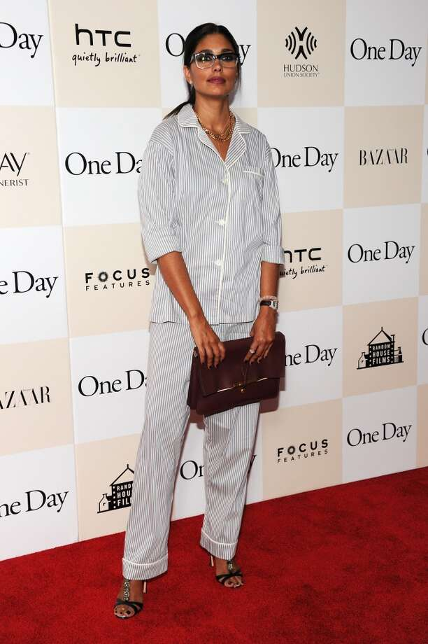 "Fashion designer Rachel Roy attends the ""One Day"" premiere on August 8, 2011 in New York City."