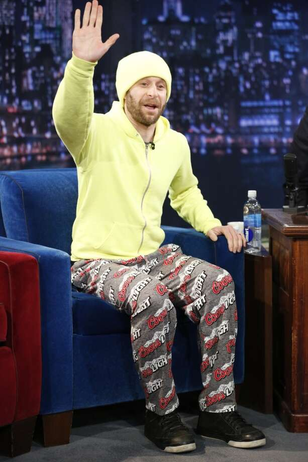 "Actor/comedian Jon Glaser on ""Late Night with Jimmy Fallon"" on February 26, 2013."