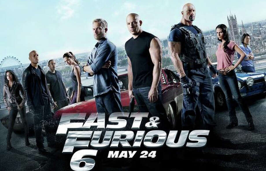"The movie, ""Fast & Furious 6,"" is now screening in area theaters. Photo: Contributed Photo / Westport News contributed"