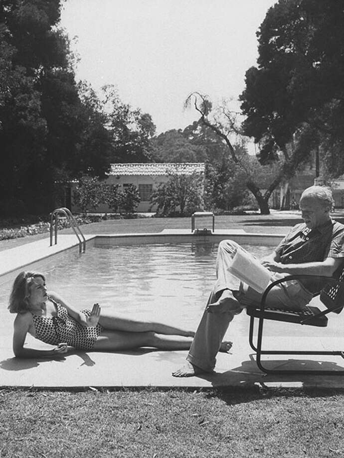 Lounging poolside, 1959. Photo: Allan Grant, Getty / Time Life Pictures